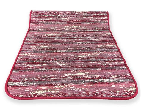 tappeto antiscivolo cucina tappeto cucina gommato antiscivolo stripe bordeaux misura