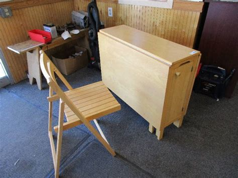 table with chairs that store inside august consignments 3 in faribault minnesota by custom
