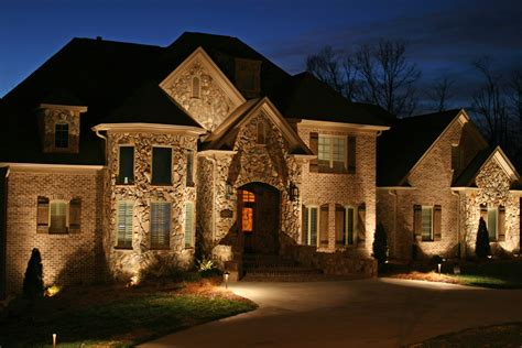 lighting outside house ideas outdoor lighting on house home decoration club
