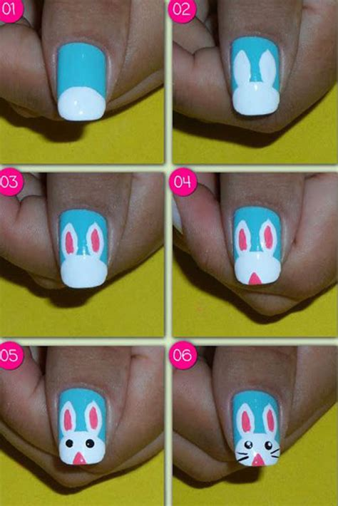 easter nail art tutorials  beginners learners
