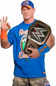 John Cena - WWE World Champion render [BLS] by ...
