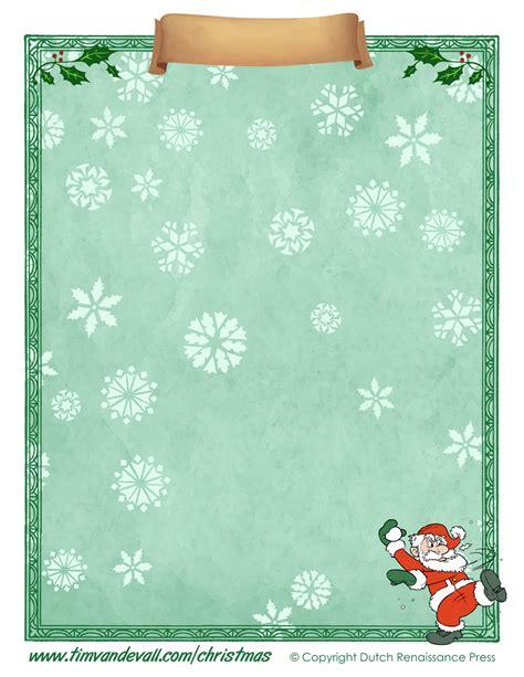printable christmas paper templates