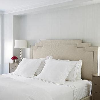 bedroom  taupe nightstand transitional bedroom