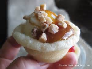 Cookie with Ice Cream Cups