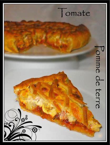 tarte tomate pomme de terre fait maison par lilouina