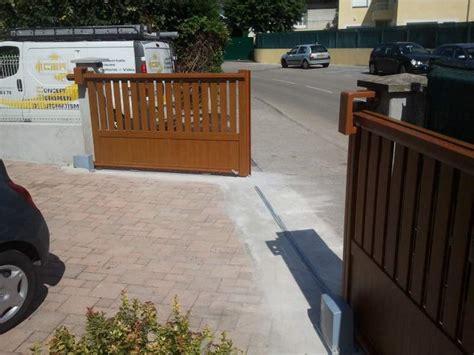 Porte De Garage Aluminium 1433 by Portail Coulissant Sectionnel Ak67 Montrealeast
