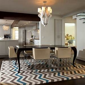 Modern Bungalow Contemporary Dining Room Oklahoma