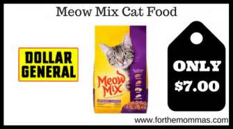 meow mix cat food dollar general meow mix cat food only 7 reg 9 25
