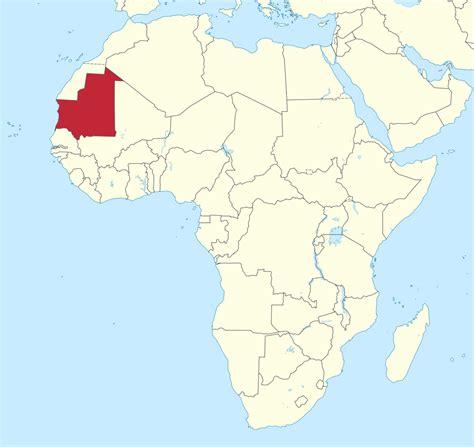 Filemauritania In Africa (mini Map Rivers)svg