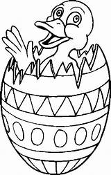 Easter Coloring Egg Printable Pages Eggs Duck Chick Holidays Boys Boy Hatching Entertainment Coloringpages101 Colorings Clip Library Clipart Getdrawings sketch template
