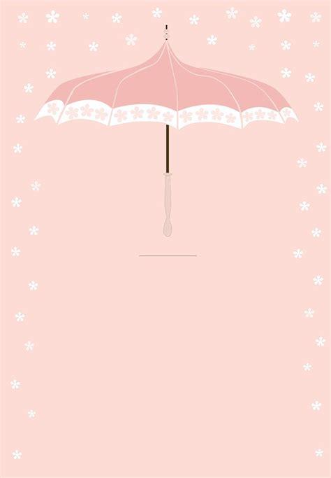 floral umbrella  printable baby shower invitation