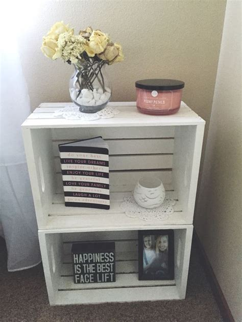 Crate Nightstand Diy by Crates Diy Nightstand And Michael O Keefe On