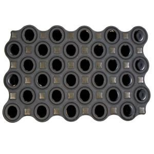 black ceramic tile home depot merola tile magna harmony black 8 in x 12 in ceramic wall tile wmgharb the home depot