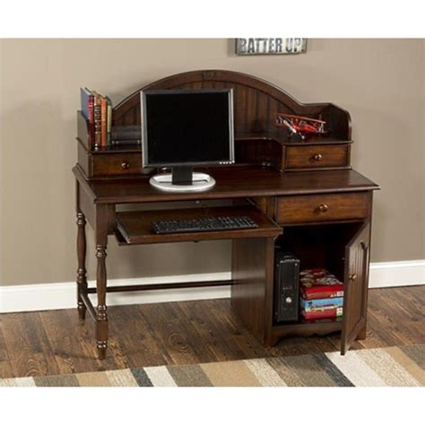 desk and hutch set hillsdale westfield desk and hutch set in espresso finish