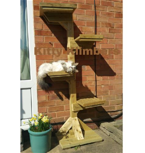 home kitty klimbers outdoor cat trees  accessories