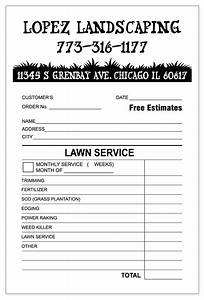 Quickbooks Invoice Template Landscaping Invoice Template Word Invoice Example