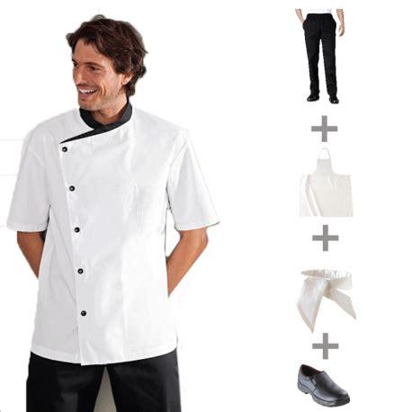 tenue cuisine pack vêtements de cuisine et tenues complètes apprentis
