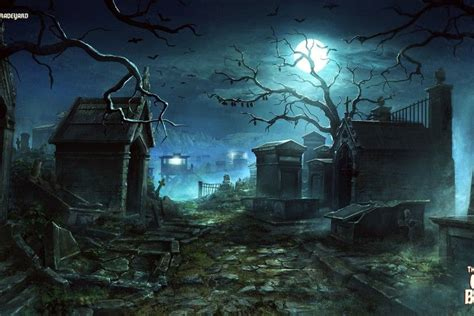 Wallpaper Graveyard by Graveyard Wallpapers 183 Wallpapertag