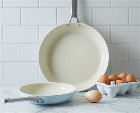 toxic timeout   rethink   stick cookware fry pan set pan set greenpan