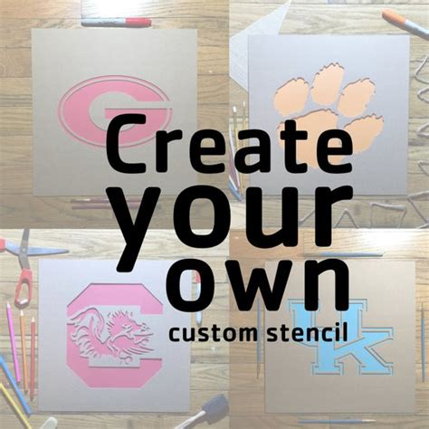 Create Your Own Custom Stencil