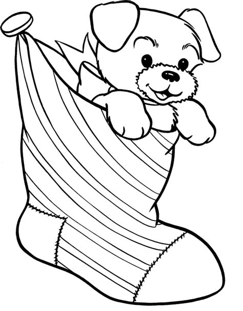 Christmas Coloring Pages Dogs 12 dogs of christmas