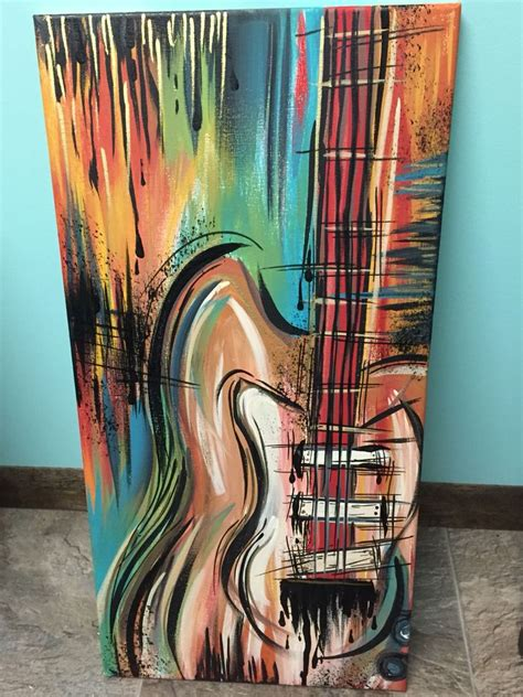 Acrylic Guitar Painting On Canvas  My Finished Projects. Drawing Ideas For Her. Design Ideas For Clothes. Kitchen Paint Colours For 2015. Kitchen Backsplash Murals Ideas. Storage Ideas Walk In Closet. Oak Kitchen Backsplash Ideas. Bathroom Ideas On Minecraft. Ideas For Bathroom Walls Instead Of Tiles