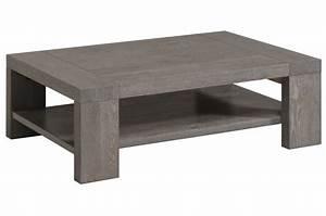 Table Basse De Salon : table basse bois gris taupe table de lit ~ Teatrodelosmanantiales.com Idées de Décoration