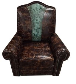 the beast recliner rustic accent chairs western style accent chairs 2710
