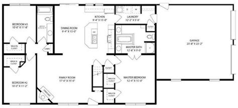 Awesome 3 Bedroom 2 Bath House Plans With Basement