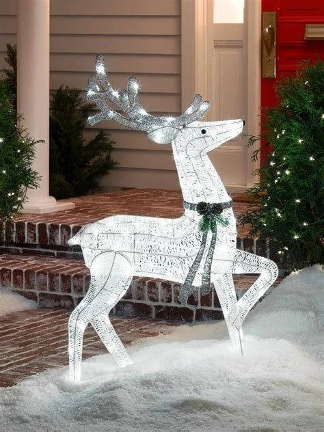 outdoor reindeer christmas decorations psoriasisgurucom