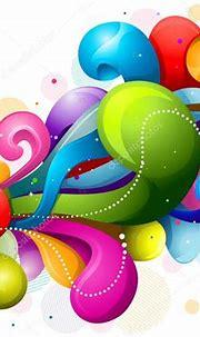 Rainbow Swirls — Stock Vector © lenmdp #3946408
