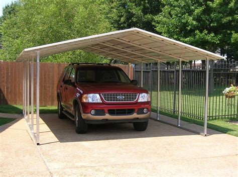 Car Port Metal by Steel Carport Kits Metal Carport Kits 595