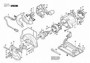 Skil 5490 F012540001 Parts