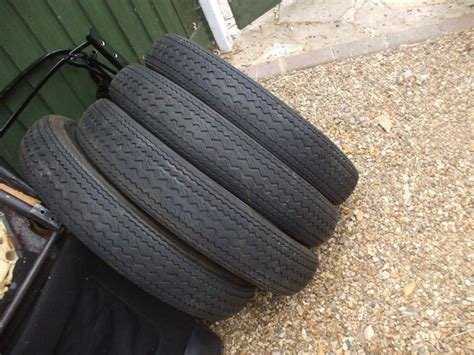 4 Crossply Tyres. Camac. 560-15