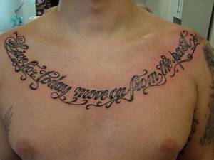 Chest Tattoo Qu... Chest Tattoo Love Quotes