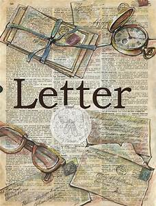 Letter, Large
