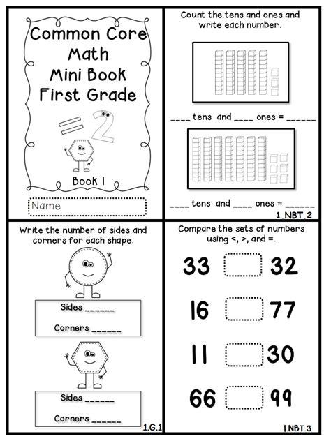 common math mini books freebie flying into