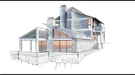 architectural rendering  sketchbook pro  start