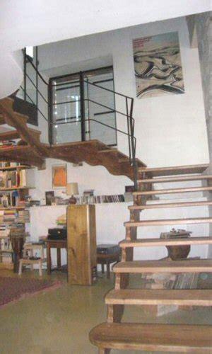 escalier bois avec re fer forge escalier bois sur mesure