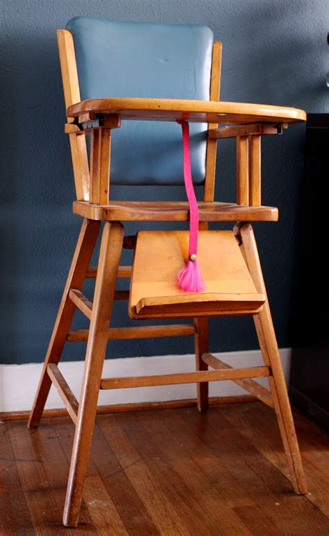 wood baby high chair plans  plans