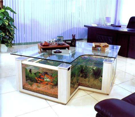 foto de cuisine la décoration avec un meuble aquarium archzine fr