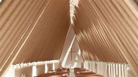 cardboard churches  cathedral