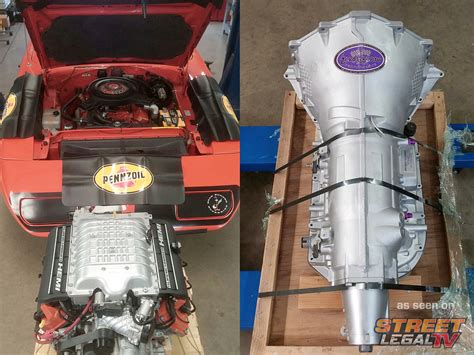 hellcat engine block video project hellbird combines hellcat power and