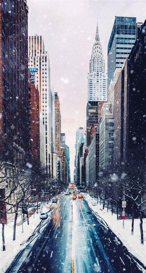 winter   york city  york   city
