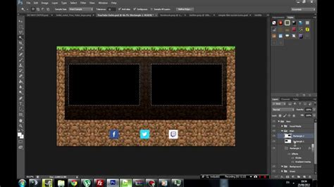 Free Minecraft Outro Screen  Template Youtube