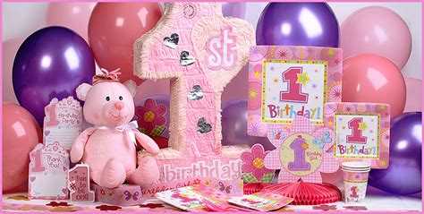1st birthday ideas for baby girl party themes inspiration creative 1st birthday party ideas baby digezt