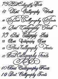 calligraphy tattoo fonts generator