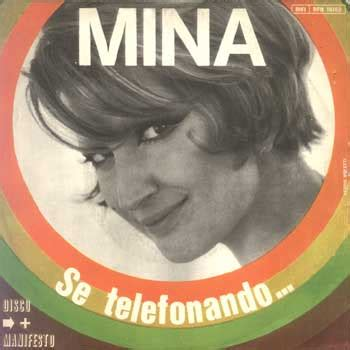 Se Telefonando Mina Testo by Se Telefonando No