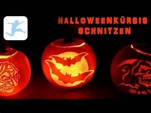 Halloween Kürbis Schablone : halloween k rbis schnitzen anleitung tutorial basteln ~ Lizthompson.info Haus und Dekorationen