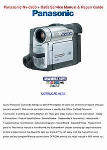 Download Free Pdf For Panasonic Nv